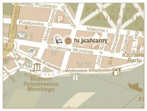 Mapka Antykwariat Świnoujście